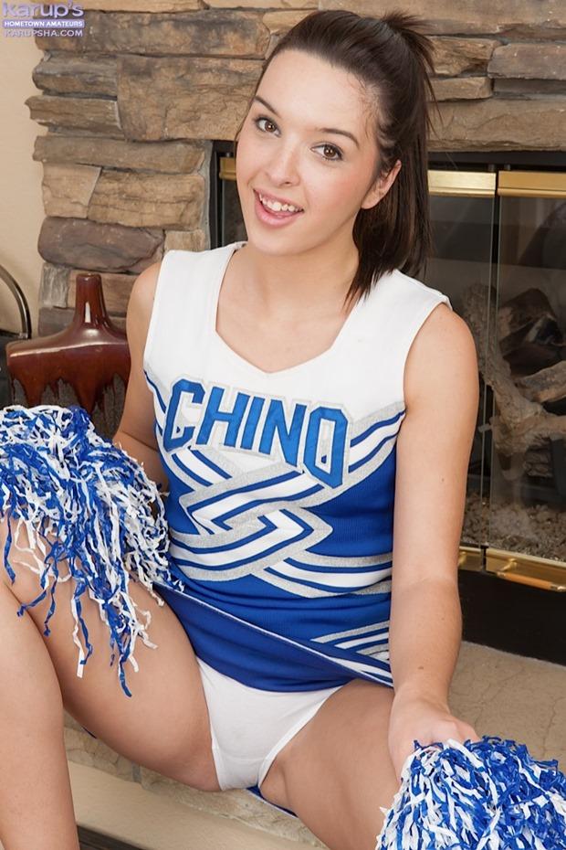 Cheerleader Jaslene Jade aka Natalie Heart